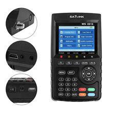 Profi Satlink WS-6916 DVB-S/S2 HD Sat Messgerät Satfinder mit MPEG-2/MPEG-4 DE