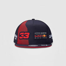 NEW 2020 RED BULL Racing F1 Max Verstappen 33 MENS Flat Cap Hat - ADULT Size