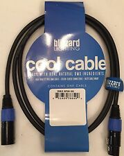 "Blizzard Lighting DMX-5PIN-5Q ""Cool Cable"" 5' DMX 22 gauge Cable 5-pin XLR ends"