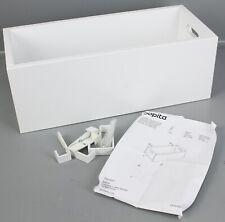 Bopita Hängekiste Weiß Aufbewahrungskasten Haken Ablagekiste f. Bettkante E3-611