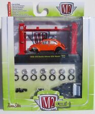 M2 MACHINES MODEL KIT 1956 VW BEETLE DELUXE WITH AUTO-LIFT * NEW 1:64 SCALE RO4