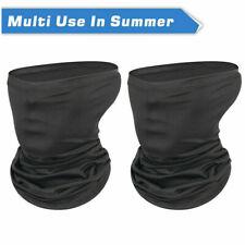 2-Pack Balaclava Scarf Neck Fishing Shield Sun Gaiter Multi-use  Headwear