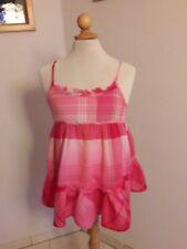 H+M ✿ Hemd Bluse 134 140 ✿ rosa pink Top Tunika Hängerchen Spitze T-Shirt Süß