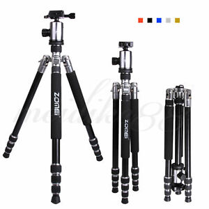Zomei Z888 Portable Aluminum Camera Tripod +Ballhead For Canon Nikon DSLR Camera