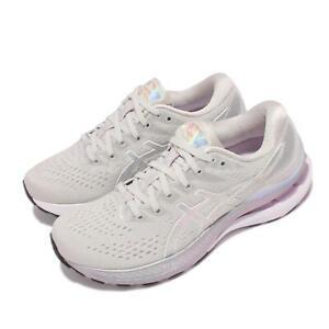 Asics GEL-Kayano 28 Platinum Grey Silver White Women Running Shoes 1012B133-020