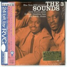 THE THREE SOUNDS - Same CD Japan Cardsleeve CD 1998 Blue Note NEU/OVP