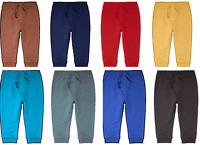 Baby Boys/Girls Joggings Trousers Pants 100% Cotton Elastic waist 3 to 24 Months