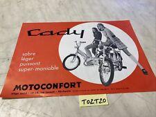 Motoconfort Caddy C1 PR PRT P catalogue prospectus brochure de vente