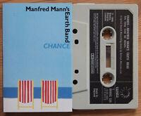 MANFRED MANN'S EARTH BAND - CHANCE (BRONZE BRONC529) 1978 UK CASSETTE VG+
