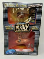 Star Wars Micro Machines Action Fleet Series Alpha Twin Pod Cloud Car Concept