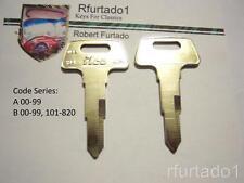 Key blank for Vintage Honda Motorcycle 1977 thru 1990's  (see code series)  HD74