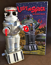 "ROCKET USA MASUDAYA ROBOT YM-3 WIND UP LOST IN SPACE 4 & 1/2"" FORBIDDEN PLANET"