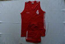 Vintage Adidas 1992 Basketball Player Jersey + Shorts Kit Suit (IEV)
