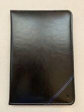 "Mead Cambridge Blk Patent Leather Credit Card,Check Bill Holder Case, 8.5""x5.75"""