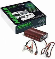 Numax 12V 10A Leisure Battery Charger Suitable for Caravan Camper Marine Boat