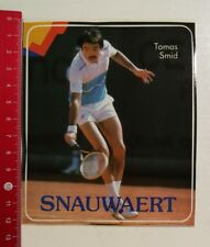 Pegatina/sticker: Snauwaert tomas smid tenis (23041741)