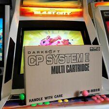 CAPCOM CPS-2 MULTIGAME DARKSOFT - CUSTOM CARDBOARDBOX - STREET FIGHTER PROGEAR