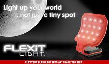 FLEXiT Light Flexible Hands Free LED Flashlight Camping / Caravan Car Workshop