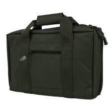 NcSTAR VISM Tactical Black Nylon Padded Double Pistol Gun Mag Bag Case CPB2903