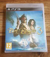 PORT ROYALE 3 Jeu Sur Sony PS3 Playstation 3 Neuf Sous Blister VF