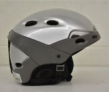Boeri Tactic High-Quality Ski/Snowboard Helmet Silver Size Small NEW LOOK