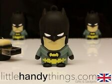Cute Cartoon Batman USB 8GB Flash Drive Memory Pen/Stick Gift Key Ring