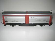 Marklin H0 4633 (1) - Vagón de mercancías cerrado con techo abatible