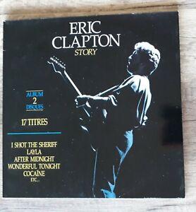 ERIC CLAPTON - Story - 2 x LP - 17 titres - compilation - 1990