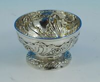 Victorian sterling silver bowl, London 1847 by J&J Angell