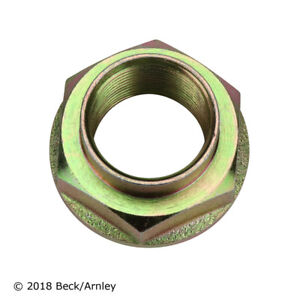 Axle Nut Front,Rear Beck/Arnley 103-0504