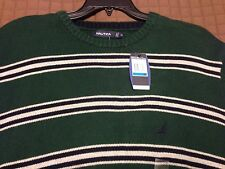New Nautica Rugby Jersey Stripe Sweater Men's Size X-Large NWT Mens sz XL Nice