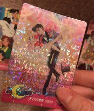 Sailor Moon Tuxedo Mask Wedding Prom Foil Card Power 5000 #33 (Rare Collectible)
