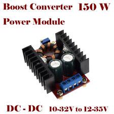 DC-DC 150W Step Up Converter 10-32V to 12-35V Boost Power Supply Module UK