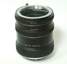 VIVITAR AT-5 AUTOMATIC EXTENSION TUBE SET - 12mm 20mm & 36mm MINOLTA MOUNT