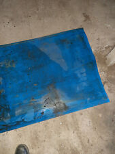 More details for blue 750mm wide pvc conveyor belt sections 1m 2m 3m 4m 5m used free uk post