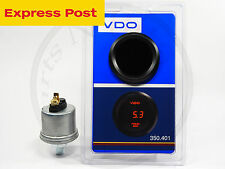 VDO 52mm 12v DIGITAL OIL GAUGE 0-5 bar  + SENDER AUTOMOTIVE 4WD BRAND NEW..!