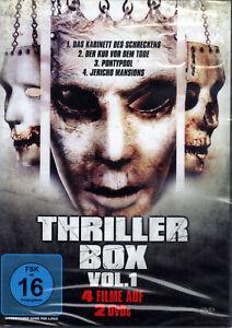Thriller Box Vol. 1 (4 Filme auf 2 DVD´s) - neu & ovp
