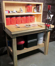 Reloading Bench Plans - Build a Rifle, Pistol and Shotgun Reloading Bench DIY