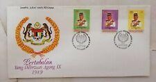 FDC MALAYSIA 1989 - Yang Dipertuan Agong IX