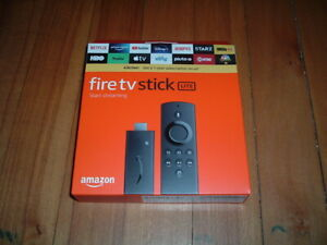 AMAZON FIRE TV STICK LITE~ BRAND NEW~ VOICE CONTROL~ SEALED~ 8GB~