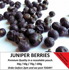 JUNIPER Berries Organic 30g / 50g / 70g / 100g up to 1kg Best before 06/2022
