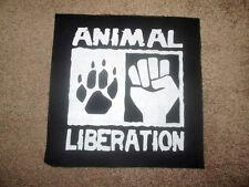Animal Liberation Front Back Patch - Punk - Crust - Hardcore - ALF.
