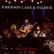 ELP Emerson Lake & Palmer Live in Poland Original CD (Metal Mind Poland) Prog