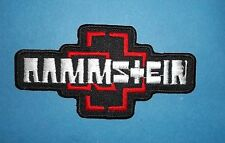 `RAMMSTIEN` SEW OR IRON ON PATCH