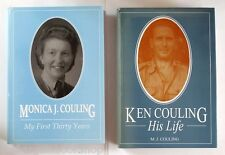 KEN COULING HIS LIFE / MY FIRST THIRTY YEARS by Monica J. Couling - SIGNED