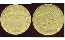 COLOMBIE 100 pesos 1995  ( bis )