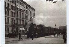 HAMBURG Reprint-AK anno 1906 Partie am Hauptbahnhof Bahnhof Railway Station