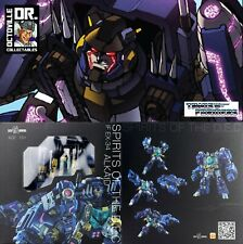 Transformers Iron Factory IF-EX34 Spirits of the D.E.C. Alkaid / IDW Helex MISB