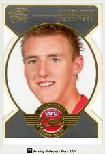 2005 AFL Dynasty Draft Pick Platinum Die Cut PDP15 Lynden Dunn (Mel.) -Rare