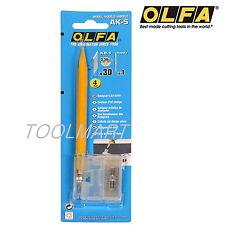 OLFA AK-5 Designer's Art Knife with a spatula edge  Ideal for designers Genuine